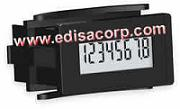 Hour Meter, Rectangular, LCD, 3-300 VDC